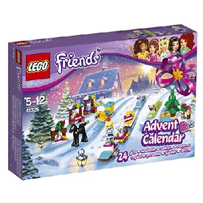 LEGO - 41326 - LEGO Friends - Jeu de Construction - Le Calendrier de l'Avent LEGO Friends