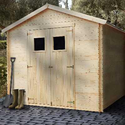 Abri de jardin bois 6 m2