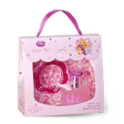 Coffret Parfum Princesses 60ml et son Bracelet - Edition Limitée