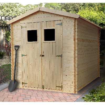 Abri de jardin bois 5 m2