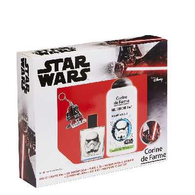 Coffret Eau de toilette 50ml + Gel douche 250ml + porte clés - Star Wars