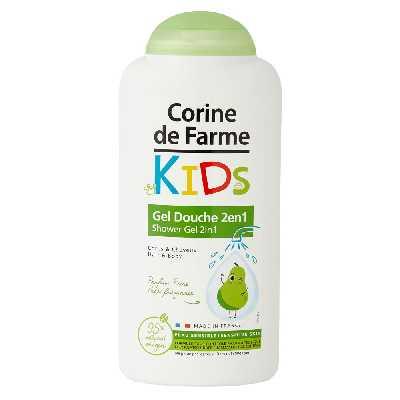 Gel Douche Kids 2en1 Corps & Cheveux parfum Poire