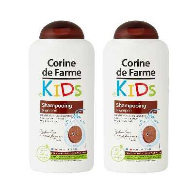 Lot de 2 Shampooings Kids Ultra Démêlant parfum Coco