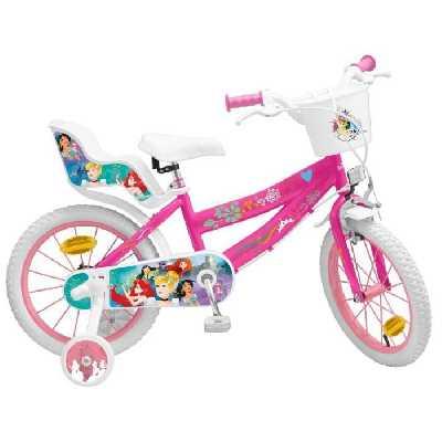 Vélo 16- Princesse - Fille - Rose