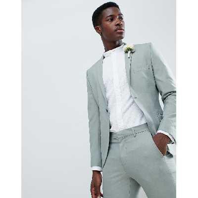 Selected Homme - Veste de costume slim - Vert