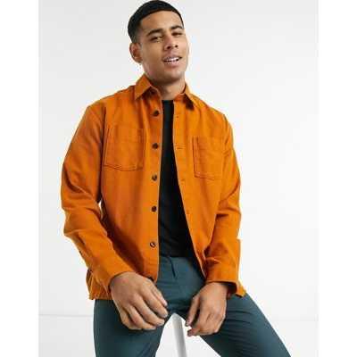 Selected Homme - Veste style surchemise - Orange