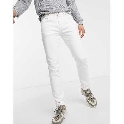 Selected Homme - Jean slim - Blanc