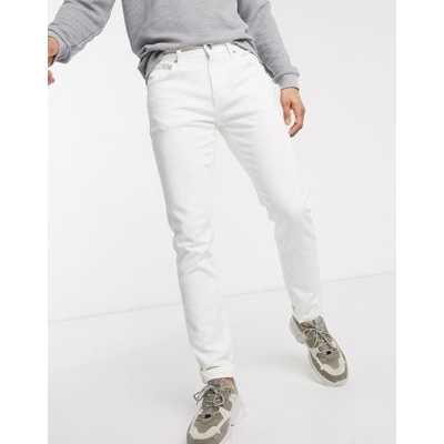 Selected Homme - Jean slim - Blanc