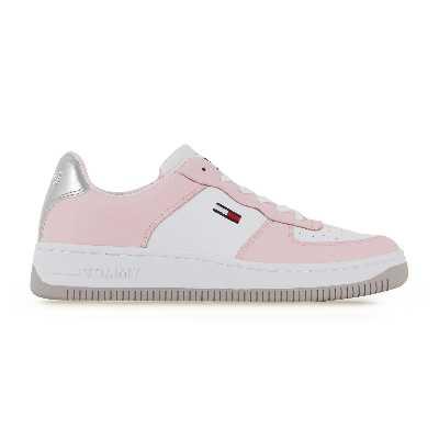 Tommyjeans Basket  Blanc/rose