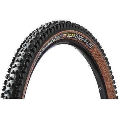 Pneu vélo - VTT - HUTCHINSON - GRIFFUS 2.4 - 27.5x2.40 (57-584) - Noir beige - TUBELESS READY