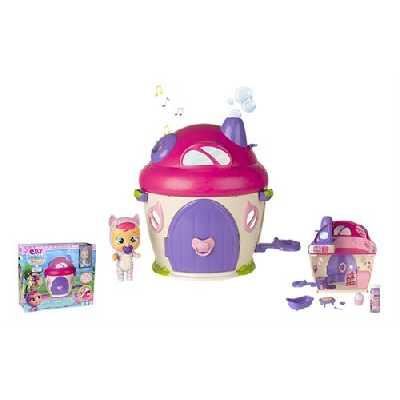 Maison de poupée IMC Toys Cry Babies La super maison de Katie