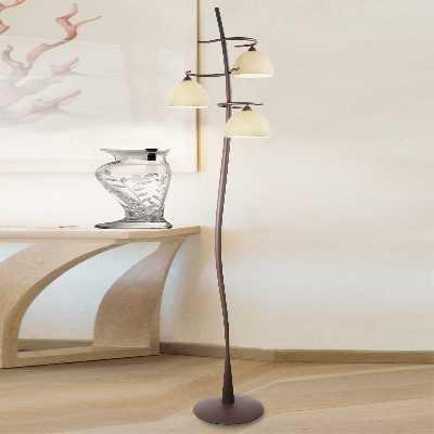 Lampadaire Christian à 3 lampes