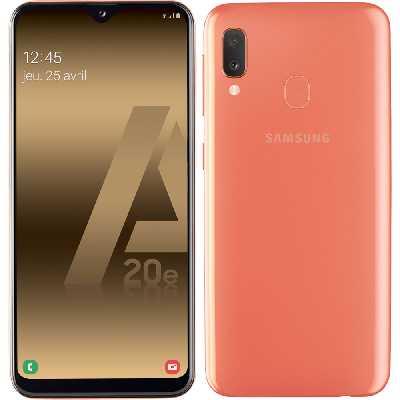 Samsung Galaxy A20e - Corail