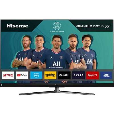 TV Hisense 55U8QF 55'' QLED 4K UHD Smart TV Noir