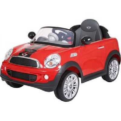 Voiture Mini Cooper S Rouge 12V - RollPlay