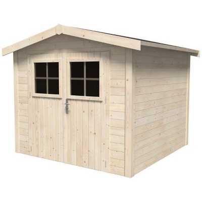 Abri de jardin bois  5 m² ép.19 mm