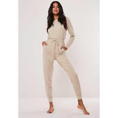 Combinaison loungewear beige