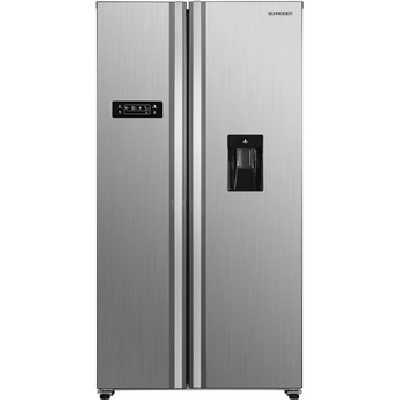 Refrigerateur americain Schneider SCSBSWD436NFX