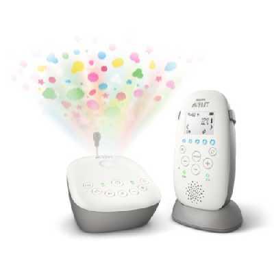 Philips - Écoute-bébé DECT - SCD733