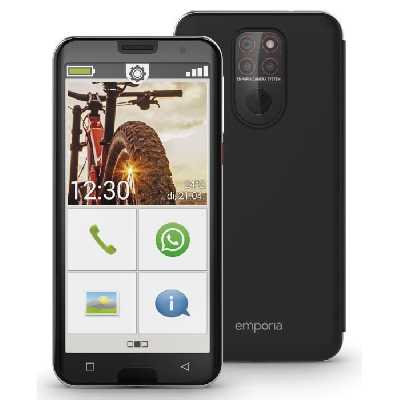 EMPORIA Smartphone pour seniors 5,5- - Noir