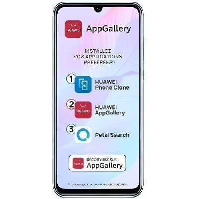 HUAWEI Smartphone Psmart S - 6.59- - Cristal (services Google non intégrés)