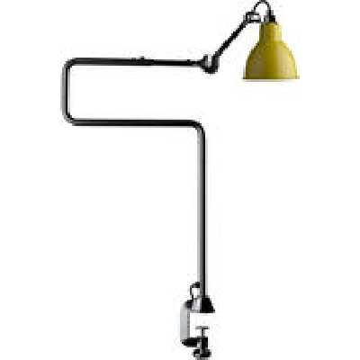 Lampe de table N°211-311 / Lampe d'architecte - Base étau / Lampe Gras - DCW éditions jaune en mé