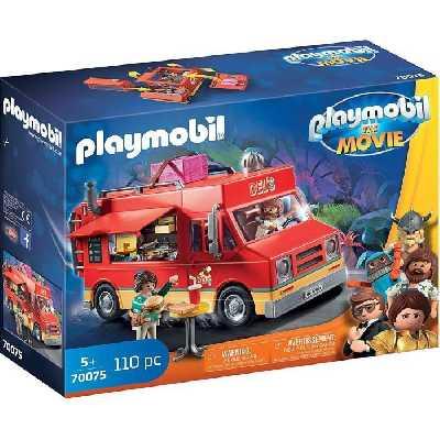 PLAYMOBIL 70075 - PLAYMOBIL THE MOVIE Food Truck de Del