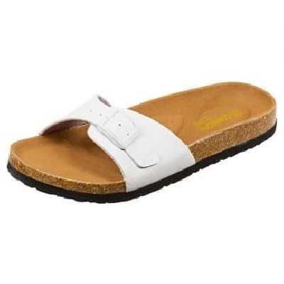 Sandales Semelles Anatomiques Confort Line® Sandales - Blanc vernis 36