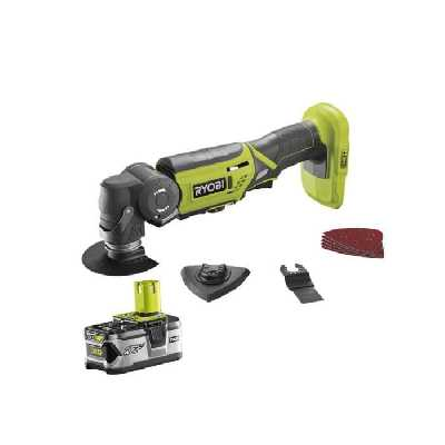 Outil multifonctions RYOBI 18V OnePlus LithiumPlus - 1 batterie 4.0Ah - 1 chargeur rapide - R18MT-1