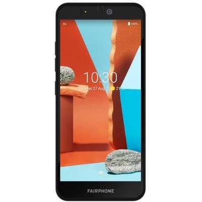 Smartphone Fairphone 3+ Noir