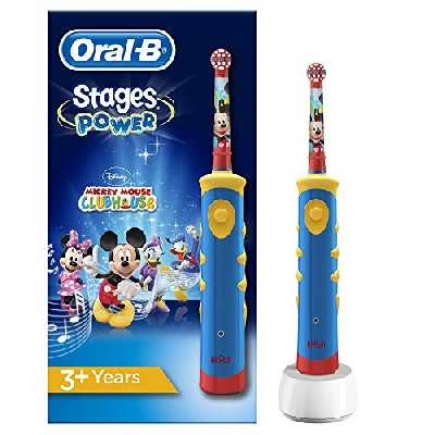 Oral-B Stages Brosse à Dents Électrique Pour Enfants Avec Personnage Mickey