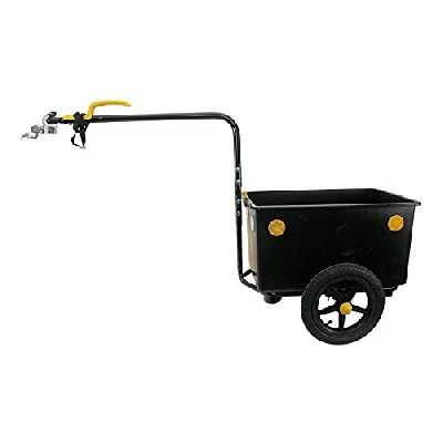 Bellelli Eco Trailer Maxi 60 L Remorque vélo Noir