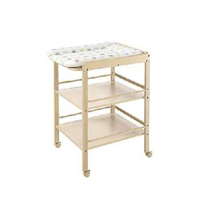 Geuther Table àLanger Clarissa naturelle - Plan à langer + 2 étagères