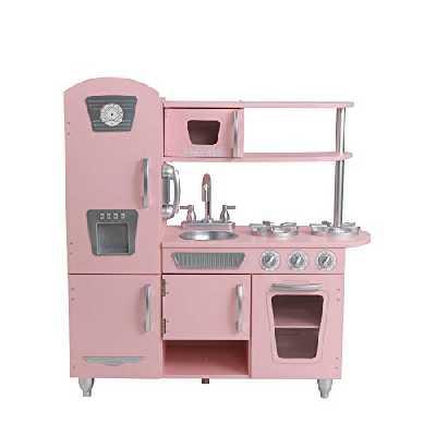 Kidkraft - 53179 - Jeu D'Imitation - Cuisine Vintage, Rose [Exclusif Amazon]