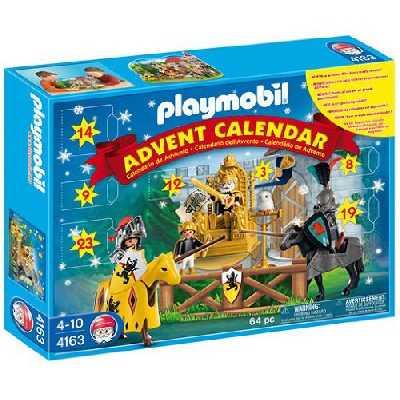 Playmobil - 4163 - Calendrier de l'Avent Les chevaliers
