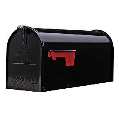ELITE - Boîte aux lettres américaine originale - en acier - noir - Gr. T1 Art E1100B00
