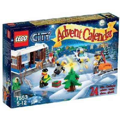LEGO City - 7553 - Jeu de Construction - Le Calendrier de l'Avent LEGO City