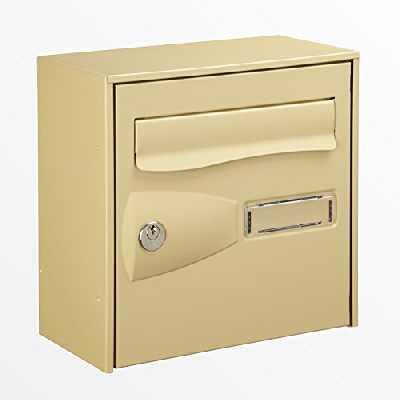 Decayeux 221373 Boîte aux lettres PTT Citadis 1 Face Beige