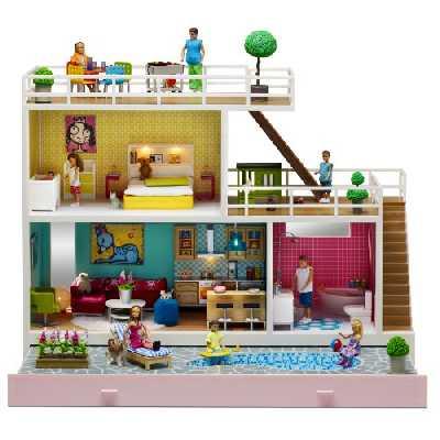 Lundby - L609032 - Poupée - Maison Stockholm