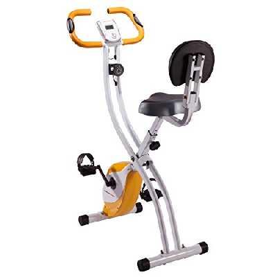 Ultrasport Vélo d'exercice F-Bike Advanced unisexe, écran LCD, home trainer pliable, vélo de fitness, (la conception peut varier)