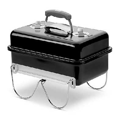 Weber 1131004 Go Anywhere Barbecue à Charbon Noir