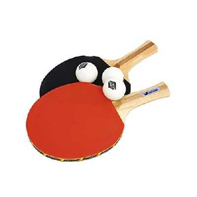 Set Tennis de table - 2 Raquettes avec 3 balles
