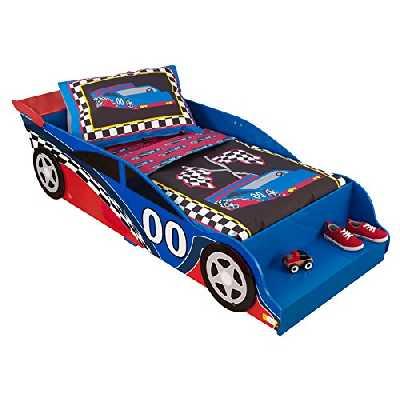 KidKraft - Parure de lit pour tout-petits Voiture de course