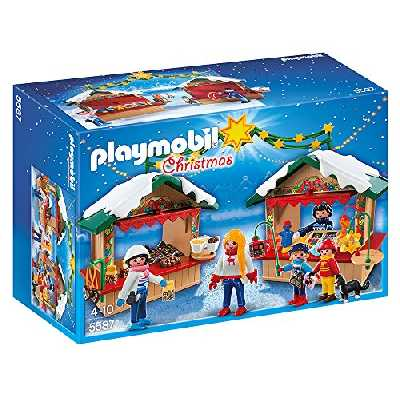 Playmobil - 5587 - Marché de Noël
