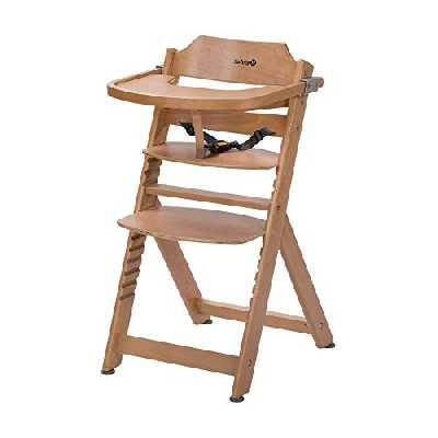 Safety 1st Timba Chaise haute en bois (Naturel)