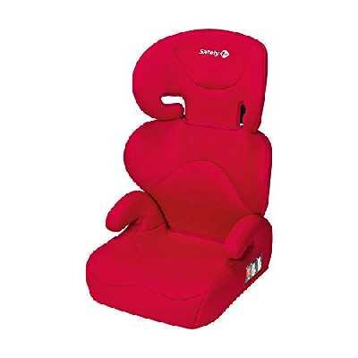 Safety 1st Siège Auto pour Enfant Road Safe, Groupe 2/3, Siège-auto rehausseur, de 3 à 12 ans (15-36 kg), Rouge