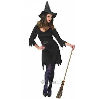 Rubies Officiel Noir Enchantress sorcière Costume Adulte Taille M
