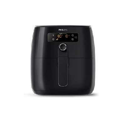 Philips HD9641/90 Airfryer Compact Noir - Bien plus qu'une friteuse : faites cuire, frire, rôtir et griller tous vos aliments