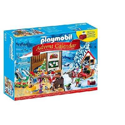 Playmobil Calendrier Avent Fabrique du Père Noël, 9264
