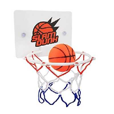 CGRTEUNIE Congerate Slam Dunk Camera Bagno Toilette Ufficio Desktop Mini Pallacanestro Decompresso Giocattolo Giocattolo Gadget Giocattolo per l'educazione Kid e Basket Amatori